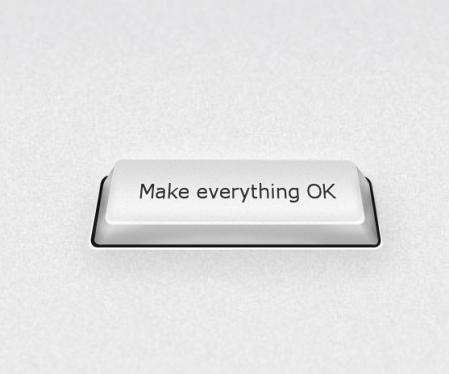Bei Bedarf drücken oder http://make-everything-ok.com besuchen.